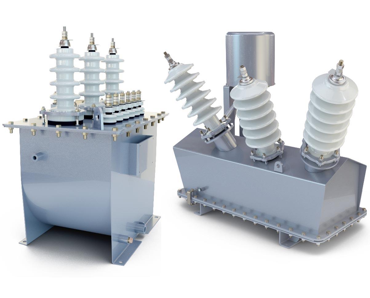 3D модели трансформаторов